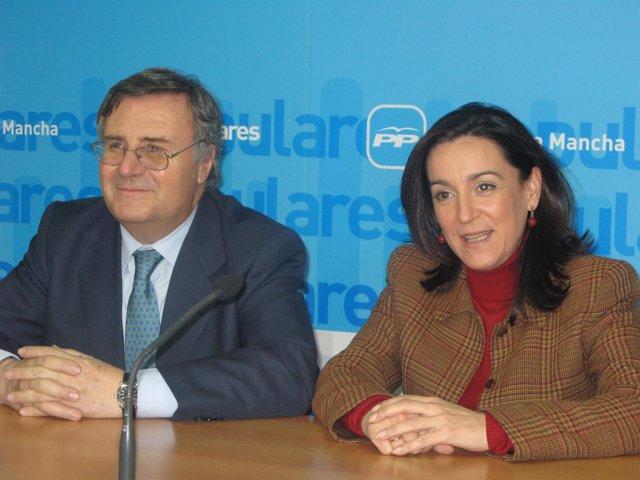 Arturo García-Tizón y Paloma Barredo
