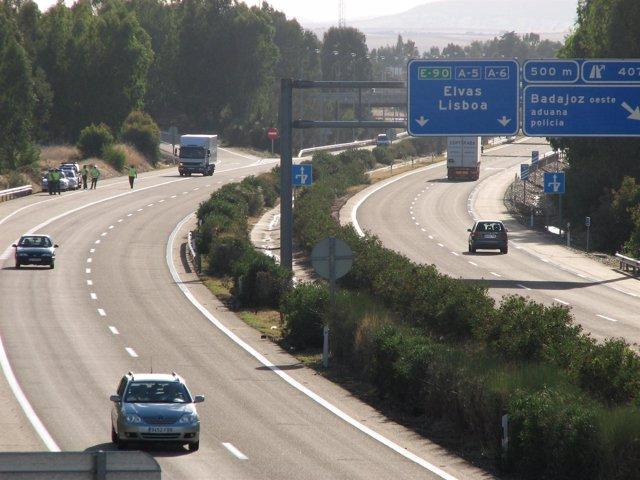Frontera de Badajoz con Portugal