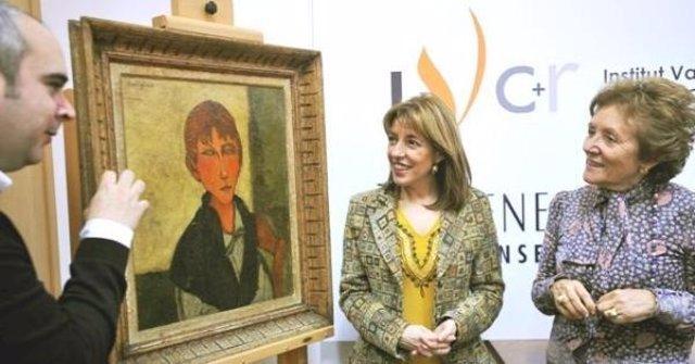 'La Patronne' de Modigliani