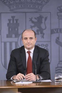 El ministro de Industria, Miguel Sebastián, en Moncloa