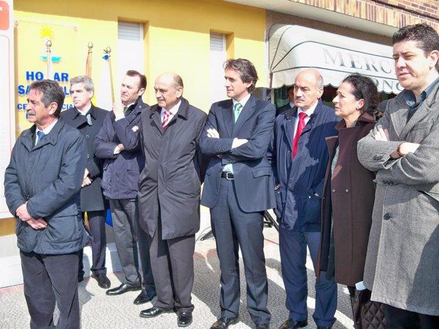 Inauguración mejora calle Inés Diego del Noval