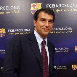 Recurso de Laporta, presidente del Barça