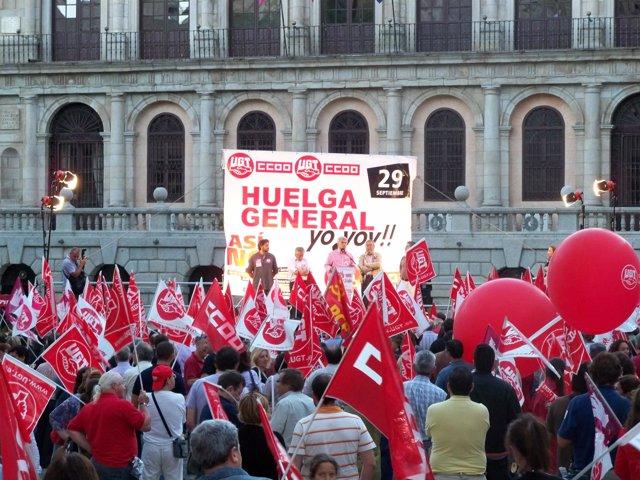 huelga general 29 septiembre toledo