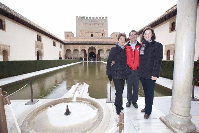 El embajador de Estados Unidos en España, Alan Solomont, y su esposa