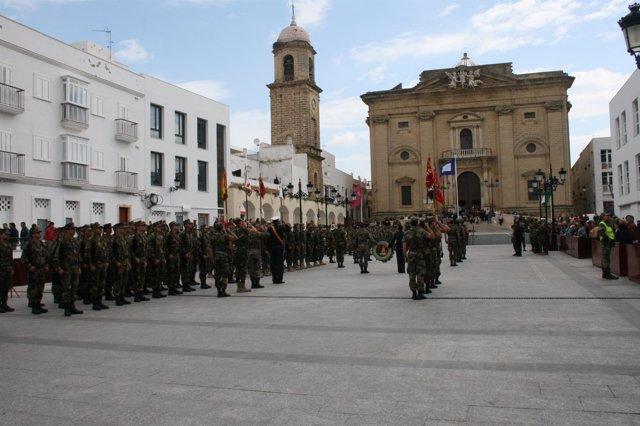 Efectivos del Ejército de Tierra, Infantería de  Marina y la Armada durante el e