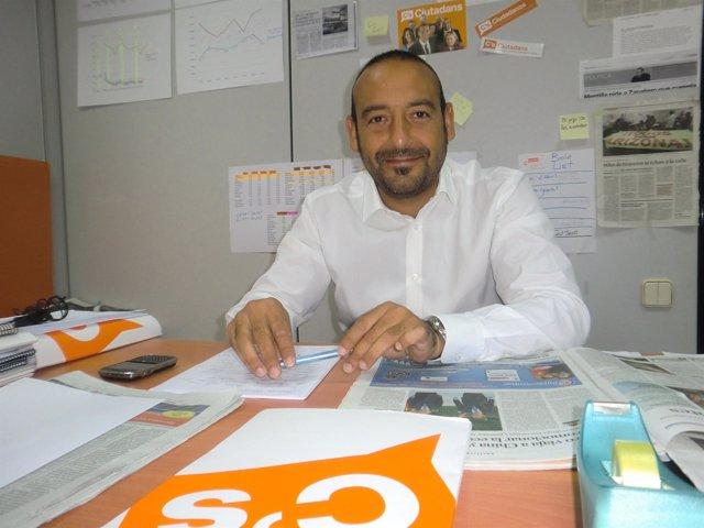 El diputado de C's Jordi Cañas