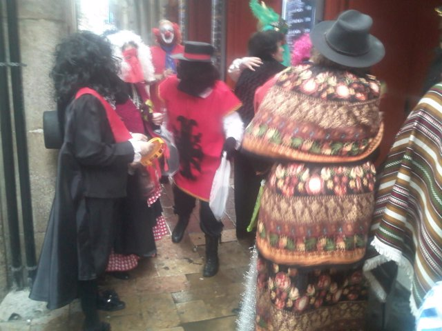 Mascarutas del Carnaval de Epila (Zaragoza)