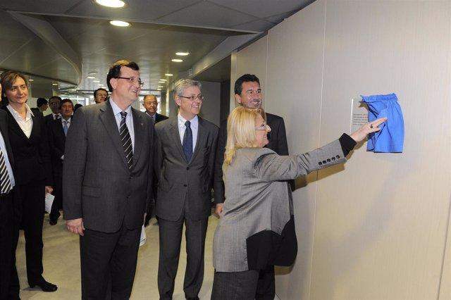 Maite Costa inaugura la sede de Sedigas