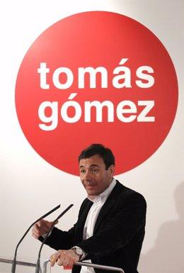 Tomás Gómez presenta campaña preelectoral