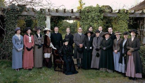 imagen de la serie Downton Abbey
