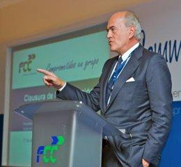 Baldomero Falcones, presidente de FCC