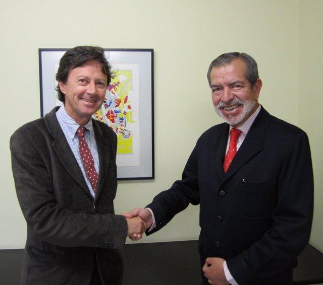 firma del acuerdo entre SEP y SEPD