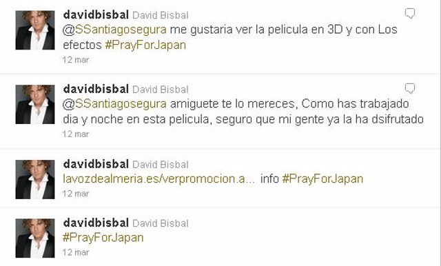 twitter de David Bisbal