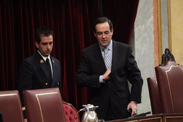 José Bono en el Congreso