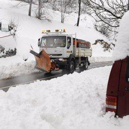 Temporal de frío y nieve en toda España