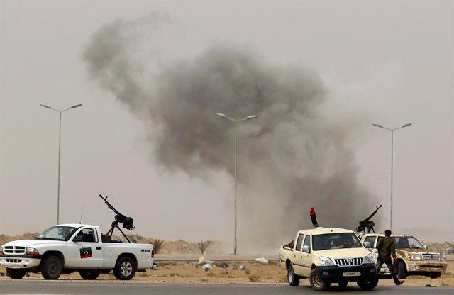 Nuevos bombardeos en la ciudad de Libia