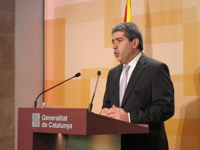 Portavoz del Govern, Francesc Homs