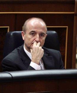 El ministro Miguel Sebastián en el Congreso