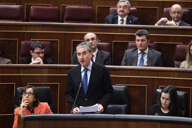 Ramón Jáuregui en el congreso