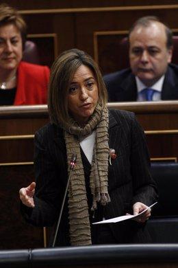 Ministra de Defensa, Carmé Chacón