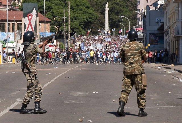 Violencia en Madagascar