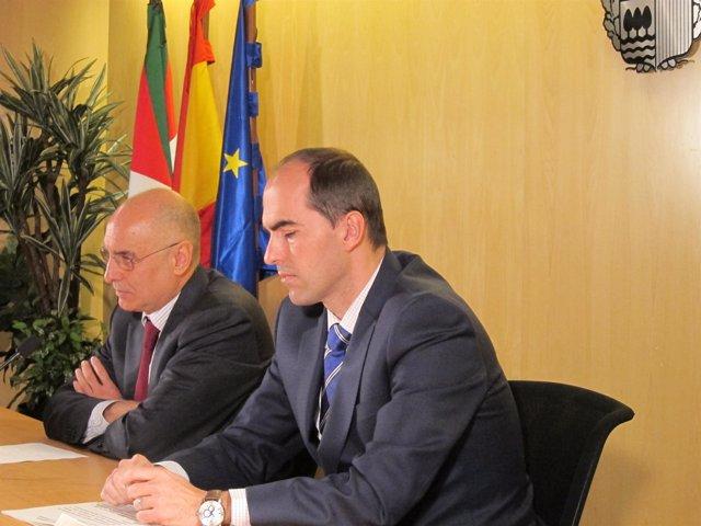 Rodolfo Ares en rueda de prensa