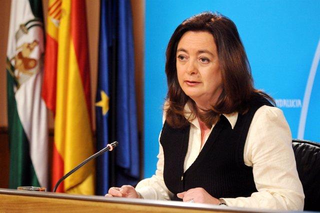 La consejera de la Presidencia, Mar Moreno.