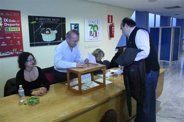 Masiva participación en la IX convocatoria electoral en la ONCE