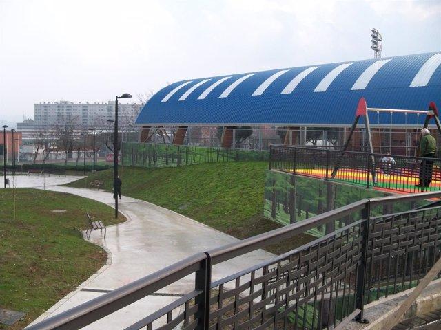Nuevo parque de El Rosario de Barakaldo