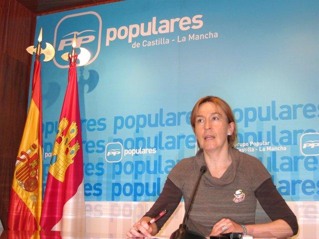 Ana Guarinos en rueda de prensa