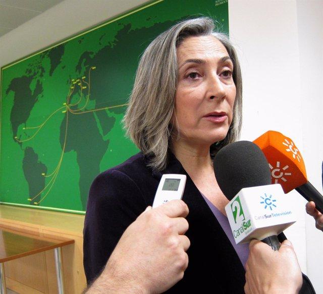 La directora general de Extenda, Teresa Sáez
