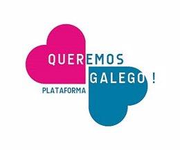 Logo de Queremos Galego
