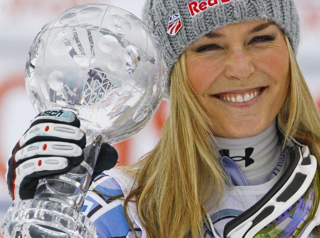 Lindsey Vonn, esquiadora estadounidense