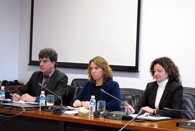 La consejera de Vivienda y Ordenación del Territorio del Gobierno de Navarra, Am