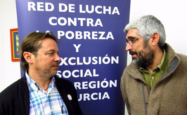 Miembros de la Red de la Lucha contra la Pobreza y Exclusión Social de la Región