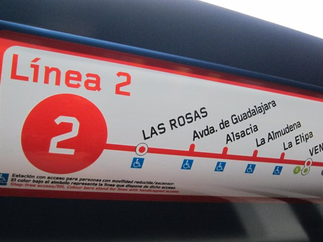 Cartel línea 2