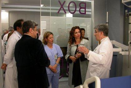 """Montero resalta que la nueva UCI del Hospital de Valme (Sevilla) """"es la mejor de Andalucía"""