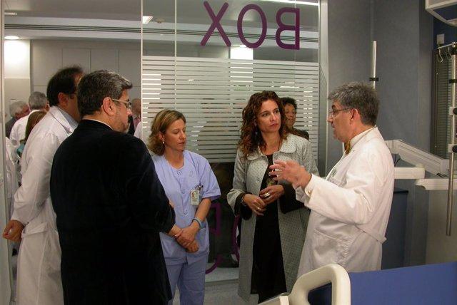 Montero en la UCI del Hospital de Valme