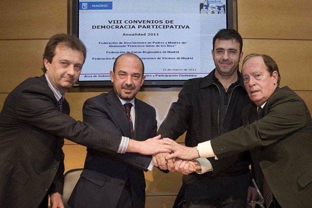 Villanueva firma un convenio con asociaciones