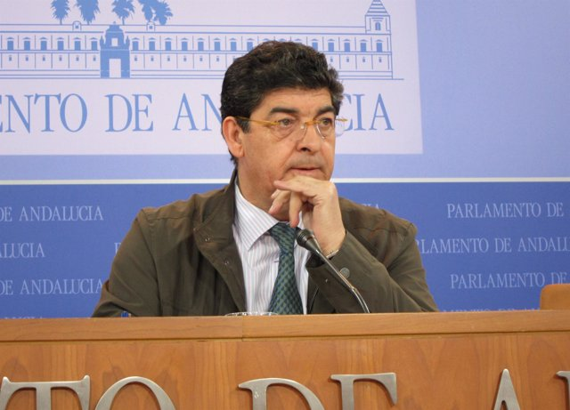 Diego Valderas, hoy en rueda de prensa