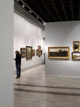 Interior del Museo de Bellas Artes de Sevilla. Exposición de la colección de Mar