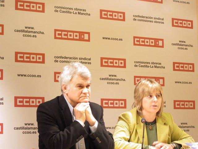 José Luis Gil y Carmen López