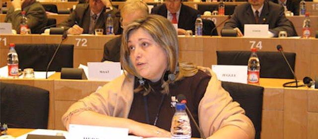 Esther Herranz, eurodiputada del PP
