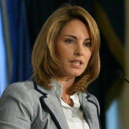 La presidenta del Parlamento vasco, la popular Arantza Quiroga