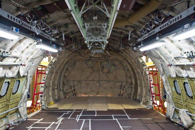 Avión cisterna  transformado por Iberia