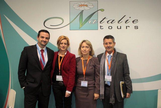Acuerdo entre la Consejería de Turismo, Comercio y Deporte y el  operador ruso N