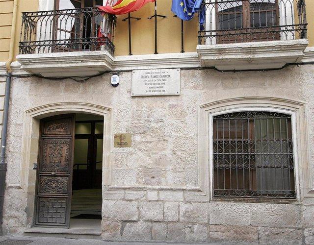Sede del Consejo Consultivo en Zamora