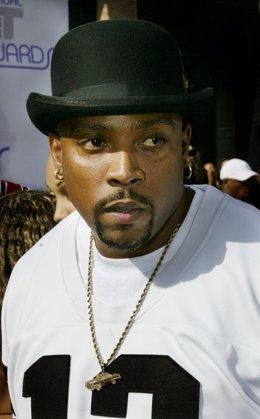 El rapero estadounidense Nate Dogg en una entrega de premios