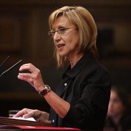 Diputada de UPyD, Rosa Díez