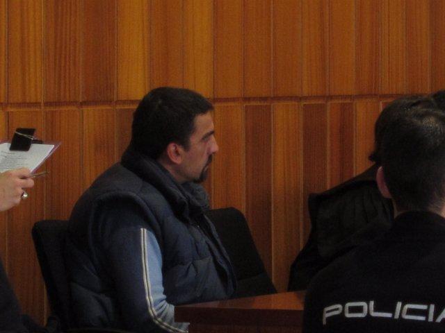 El acusado en la tercera sesión del juicio